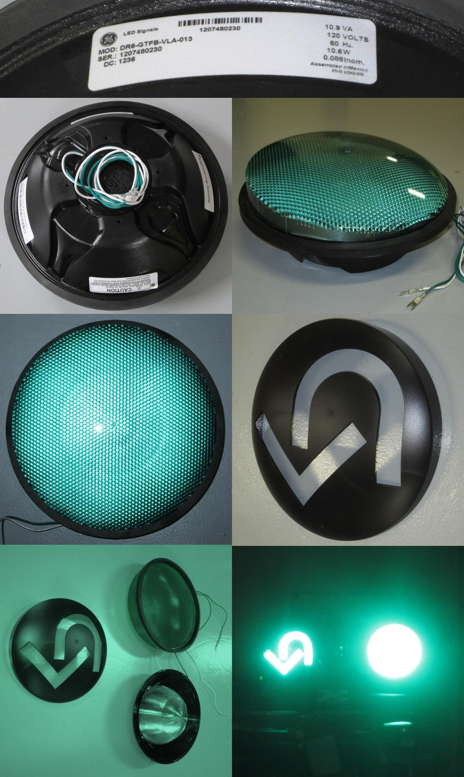 Product GE Lighting Solutions 12 LED Green Signal